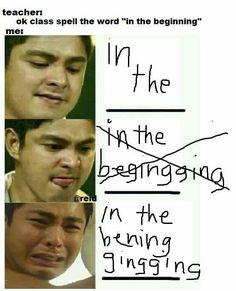 Pinoy Jokes Tagalog, Memes Pinoy, Bisaya Quotes, Tagalog Quotes Hugot Funny, Tagalog Love Quotes, Funny Quotes, Filipino Quotes, Filipino Funny, Funny Video Memes
