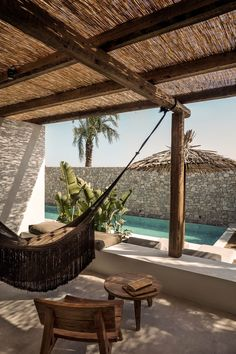 Casa Cook Kos: A Relaxing Beachside Hotel on a Greek Island (Gravity Home) Outdoor Spaces, Outdoor Living, Outdoor Decor, Outdoor Lounge, Exterior Design, Interior And Exterior, Room Interior, Casa Cook Hotel, Kos Hotel