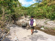 Trekking Mount Pinatubo, a vulcan in the Philippines