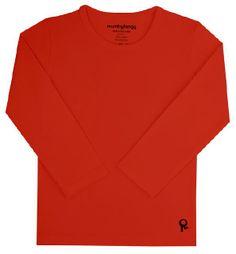 longsleeve, rouge intense, unisex * 95% coton / 5% elastane   Sexe : Unisex Categorie : T-shirts & longsleeves Marque : Mambotango   € 16.95