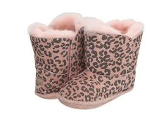 UGG Kids Cassie Leopard Baby Boots