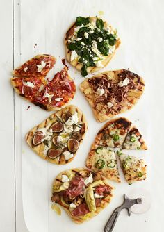 6 Mouthwatering Grilled Pizza Recipes || Don't have a coal-fired oven? Not to worry. A grill is a good alternative—and these six topping ideas from pie-loving chefs and restaurants take the flavors to the next level.