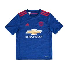 Manchester United FC adidas Youth 2016 Replica Away Jersey - Royal - $59.99