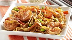 ReadySetEat - Pan Fried Noodles with Shrimp - Recipes