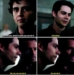 Teen Wolf 6x05 - It was so nice to see that smile and humor from Stiles in that moment :)
