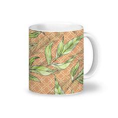 Caneca Natural Leaves de @jurumple | Colab55