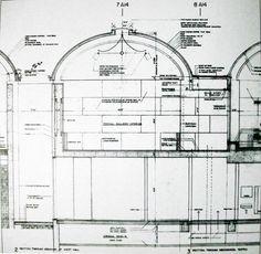 Louis Kahn. North gallery, Kimbell Art Museum. Fort Worth. 1966-72 #architecture #kahn