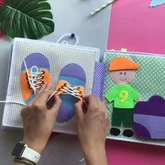 Creative Activities For Kids, Preschool Learning Activities, Infant Activities, Book Activities, Learning Games, Kids Learning, Diy Busy Books, Diy Quiet Books, Books For Boys