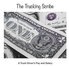 How are Truck Drivers Paid? Truck Driving Jobs, Truck Drivers, Trucks, Cat Walk, He Is Able, Money, Walkway, Silver, Truck
