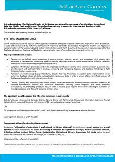 Sri Lankan Government Job Vacancies At Sri Lanka State Trading
