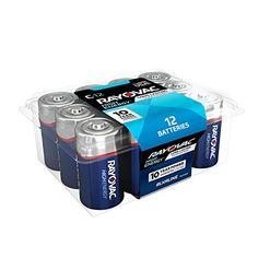 RAYOVAC C 12-Pack HIGH ENERGY Alkaline Batteries, 814-12PPK #RAYOVAC #Pack #HIGH #ENERGY #Alkaline #Batteries,