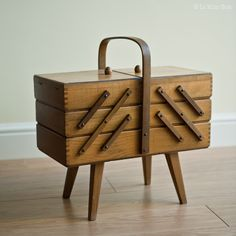 get lola nadine's sewing box repaired & give it a home in my future craft room.