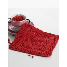 Lily® Sugar 'n Cream® Heart Shaped Dishcloth