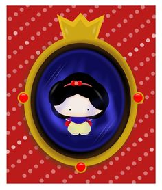 Mirror Mirror There's Snow White by smallrinilady.deviantart.com on @deviantART