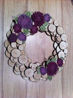 Une couronne de fleurs blog hop « autour d'un set »