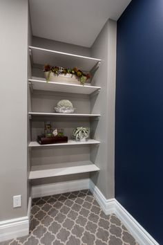 Just Basements Ottawa Home Page Custom Shelving, Basement Renovations, Ottawa, Building Design, Bookcase, Shelves, Home Decor, Shelving, Decoration Home