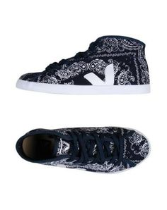 #Veja sneakers and tennis shoes alte donna Blu scuro  ad Euro 39.00 in #Veja #Donna calzature sneakers