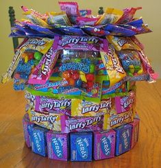 http://thepartyanimal.hubpages.com/hub/Candy-Birthday-Cakes