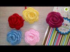 Eine Häkelanleitung (auch für Anfänger) für eine Rose | Do it Yourself Eigen-Kreationen - YouTube