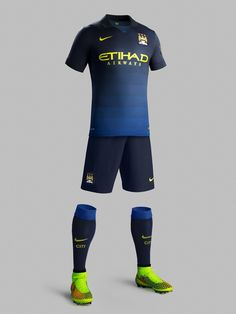 Manchester City 2014-15 Nike Away