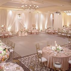 A rose gold dance floor! Oh YES YES YES! Such a gorgeous night @stregismb with @ambereventprod @kevincovey @invitingoc @sandeecreager @djjasonjass @revelryeventdesign @amandarae83 photo by: @chrisbentley
