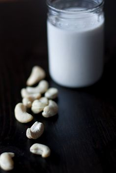 recipe for cashew cream.  love this more that whipped cream.