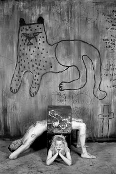 The Dirty Alchemy Of Photographer Roger Ballen In Combination With Frenetic Rap Ravers Die Antwoord Resulted Video For I Fink U Freeky Now A