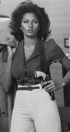Vintage Black Glamour, Vintage Beauty, Cherokee Dass, Pam Grier, Foxy Brown, Black Goddess, Black Aviators, Black Luxury, Alison Brie
