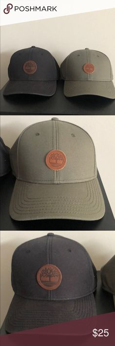 d95002334ff2b Adjustable Timberland hats in excellent condition Perfect condition! Green  with leather strap on back.