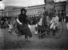 Quando a cidade inteira saía à rua: o Carnaval em Lisboa no início do século XX
