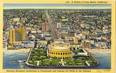 A Long beach California postcard from c 1930'd. Hagins collection.