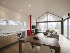 Wakatipu Guest House - Team Green Architects - New Zealand - Kitchen - Humble Homes