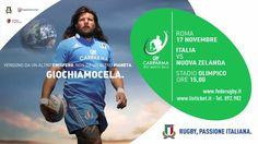 Rugby: Italia VS All Blacks - Campagna pubblicitaria