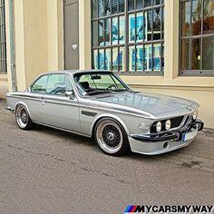 : E9 CSL MyWay Silver & Black combo looks perfect. #alpina #bbs #bmw #bimmerrides #Bmwgram #bmwlife #e21 #e23 #e24 #e28 #e30 #e32 #e34 #e36 #alpinawheels #batmobile #bimmerinsta #e30fanatics #m635csi #sharknose #stanced #M1 #M3 #dtm #M5 #M6 #m535i #csl #e9 #bmwcsl