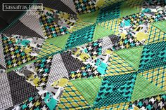 Euclid Avenue in Houndstooth & Friends by Sassafras Lane Designs