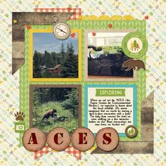 ACES by Brenda Hollingsworth Made with the Outdoor Adventures bundle from PixelScrapper.com