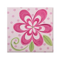 Found it at Wayfair - Renditions by Reesa Flamingo Pink Bloom Imagination Square Canvas Art Art Wall Kids, Canvas Wall Art, Art For Kids, Flower Canvas Art, Flower Art, Kids Canvas, Square Canvas, Hand Painted Canvas, Arte Floral