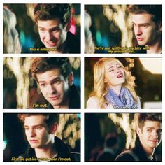 (Part 3) The Amazing Spider-Man 2: Gwen and Peter meet up after a year and decide to set up some ground rules