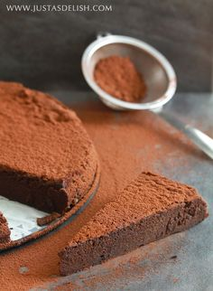 Flourless Chocolate Cake (Gluten, Grain, Nut & Dairy Free)