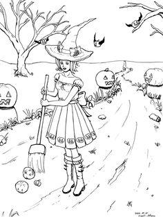 Halloween Time by lillfrid.deviantart.com on @deviantART