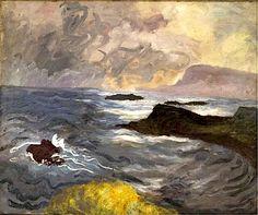bofransson:    Winifred Nicholson - Isle of Canna