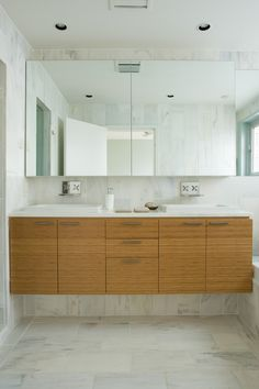 Bathroom Floating Vanity Design, Pictures, Remodel, Decor and Ideas - page 7 Bathroom Inspiration, Simple Bathroom, Bathroom Cabinets Designs, Bathroom Vanity Designs, Bamboo Bathroom, Bathroom Design, Vanity Design, Modern Bathroom Cabinets, Bamboo Cabinets