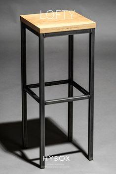 Doskonały do nowoczesnej kuchni, salonu, jadalni, wyspy, baru lub na imprezy okolicznościowe. Krzesło barowe LOFTY to elegancki i mocny stołek wykonany z litego drewna dębowego i wytrzymałej stali węglowej. LOFTY to stylowy mebel, który spełni oczekiwania najbardziej wymagających użytkowników zarówno w zakresie trwałości jak i nieprzemijającej elegancji wynikającej z prostej formy i wysokiej jakości. Podpórka na nogi oraz optymalna szerokość siedziska zapewni ergonomiczność i funkcjonalność. Stool, Loft, Bar, Table, Furniture, Home Decor, Decoration Home, Room Decor, Lofts