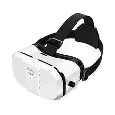 Merope Virtual Reality Headset 3D Glasses (White) >>> Check this awesome product by going to the link at the image. (This is an affiliate link) #VRHeadsets