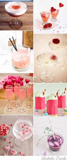 Prepare something pretty delicious (and pink!) to celebrate the big love fest with a Valentine's Day Cocktail!