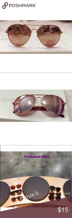 🆕Mirror aviator classic sunglasses Style5. Was sold out before. Restocking. Impact resistant. Ultra violet safe. UV protection. General purpose sunglasses. Filter category 3. Good protection against sun glare. Not Ray-Ban, using the name for exposure purpose. 🌸Final Price ❌no offers will be accepted ❌ Final Sale!🌸Doesn't come with box.💋Bundle to save 10% off 3 items.💋 Ray-Ban Accessories Sunglasses