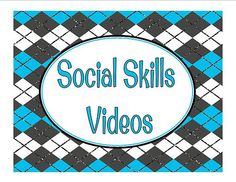 Great collection of social skills videos compiled by Julie C. on Pinterest. Great for classroom/home use. You may also like Willy Wonka Printables Behavior Bingo Short Moral Stories for Kids Character Counts LiveBinder100+ resources