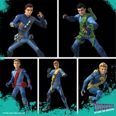 サンダーバード Are Go, Thunderbirds Are Go, Go Go Power Rangers, Stevie Ray Vaughan, Long Live, Puppets, Science Fiction, Netflix, Childhood