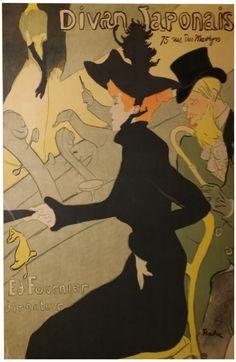 """Henri de Toulouse-Lautrec (French, 1864-1901), """"Divan Japonais"""" (Delteil 341)"""