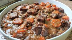 Veal Stew, Yummy Food, Tasty, Sauce, Fried Chicken, Pot Roast, Fries, Food And Drink, Cooking Recipes